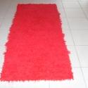 Hosszú szőrű szőnyeg, Otthon, lakberendezés, Lakástextil, Szőnyeg, Szövés, Ez is egy hosszú szőrű, vastag, puha tapintású, könnyű, jól mosható szőnyeg. Rendelésre készítem. S..., Meska