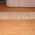 Vastag gyapjú szőnyeg, Otthon, lakberendezés, Lakástextil, 100% gyapjúból készült szőnyeg különböző mintájú fonalból. Mérete: 58x227 , Meska