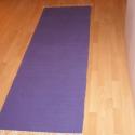 Puha pamut szőnyeg, Otthon, lakberendezés, Lakástextil, Ennek a szőnyegnek a mérete: 70x200     Anyaga puha lila pamut. , Meska