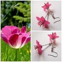 Pink csillagvirág fülbevaló száron, Ékszer, Fülbevaló, Fülbevaló imádó hölgyek figyelmébe ajánlom legújabb virágos sorozatom különleges darabját. Biztos le..., Meska