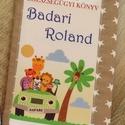 Gyermek egészségügyi könyv borító, Baba-mama-gyerek, Baba-mama kellék, Varrás, Gyermek egészségügyi könyv borító.  Megóvja a könyv borító lapját a koszolódástól, gyűrődéstől.  Ar..., Meska