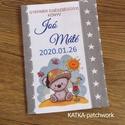 Gyermek egészségügyi könyv borító, Gyerek & játék, Baba-mama kellék, Varrás, Gyermek egészségügyi könyv borító.  Megóvja a könyv borító lapját a koszolódástól, gyűrődéstől.  Ar..., Meska