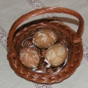 Natúr hímes tojás, Otthon, lakberendezés, Dekoráció, Húsvéti apróságok, Ünnepi dekoráció, Hagyományos mintával készített hímeseim a tojás természetes színét adják vissza. Visszamaratással ké..., Meska