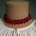 Gyöngy nyaklánc, Ékszer, Nyaklánc, Gyerekruha, Műanyag  gyöngyből fűzött nyaklánc, mérettől függően felnőttnek vagy kislánynak.  Hossza..., Meska
