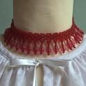 Gyöngy nyaklánc, Ékszer, Nyaklánc, Gyerekruha, Műanyag  gyöngyből fűzött nyaklánc,  mérettől függően  felnőttnek vagy kislánynak.  Hoss..., Meska