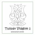 Tulipán Világom 1 színező lapok - nyomtatható, 12 db tulipánt rajzomat küldöm el elektronikus ...