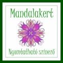Mandala kert - nyomtatható színező, Saját rajzaimból válogattam össze ezt a 9 db m...
