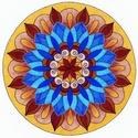 Kacskaringós indák tánca 5 - falikép, Képzőművészet, Grafika, Rajz, 19 cm-es eredeti rajz, krémfehér paszpartuban. A motívum eredeti, saját tervezés és készítés művészp..., Meska