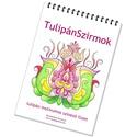 Tulipános színező füzet , Képzőművészet, Magyar motívumokkal, Grafika, Rajz, Az elektronikus színezők polcán már régóta megvásárolható Nagy Tulipános könyvből válogattam össze 2..., Meska