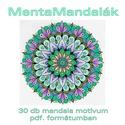 MentaMandalák - nyomtatható mandalás színező, Dekoráció, Kép, Saját tervezésű mandaláimat kínálom szeretettel színezéshez, selyem-, üveg- és falfestéshez, tovább ..., Meska