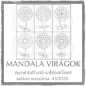 MandalaVirágok + Mandalák 43/2020