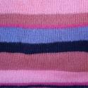 AKCIÓ! - meleg pulcsi , Ruha, divat, cipő, Női ruha, Poncsó, Kötés, Meleg pulcsi, vidám színekben!   Ez a pulcsi kézzel kötött, egyedi színekből válogatott, csíkos, vi..., Meska