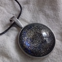 Starry night nyaklánc, Ékszer, Nyaklánc, Starry night nyaklánc  ---------------------------- A medál ihletője a csillagos éjszaka - gyön..., Meska