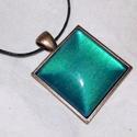 Mermaid nyaklánc, Ékszer, Nyaklánc, Mermaid nyaklánc  ---------------------------- Gyönyörű zöldes-türkizes színekben ragyog ez a..., Meska