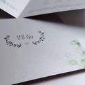 Esküvői meghívó, Esküvő, Esküvői dekoráció, Meghívó, ültetőkártya, köszönőajándék, A meghívót minden esetben személyre szabom, szóval kisebb módosítások természetesen lehetsé..., Meska