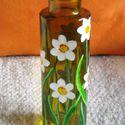 Nárcisz váza. , 15 cm magas, kicsit téglalap alakúan szögletes,...