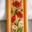 Nyári rét, rézdomborítás,   29 x 14 cm-es képre a nyári rét virágait ör...