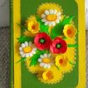 Füveskönyv  Könyvdoboz, Otthon, lakberendezés, Tárolóeszköz, Doboz, 20 x 14 x 4,5 cm méretű, könyv alakú, fa dobozt a magyar nyár virágaival díszítettem. A doboz két la..., Meska