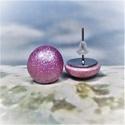UNIKORNIS lila kerámia fülbevaló - Ajándék lányoknak nőknek névnapra születésnapra, Szereted a szivárvány varázslatos színeit? Jó...