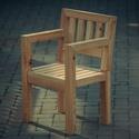 Vörösfenyő szék, Bútor, Pad, Famegmunkálás, Massziv tömör vörösfenyő szék, csapozva csavarmentesen, olajjal felületkezelve. 1 személyes 86x44,5..., Meska