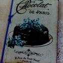 Vintage süteményes füzet, Konyhafelszerelés, Receptfüzet, Vintage süteményes füzet A/5 méretben. A régóta őrzött családi receptek összegyűjtésére..., Meska
