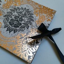 Rosegold és Black Fotóalbum masnival, Az album 24x34 cm nagyságú 25lap/ 50 oldalt tart...
