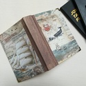 Cethalas egyedi napló, arany nyomattal, A napló kézi kötéssel készült, papír borít...