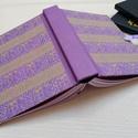 Arany elefántok- egyedi napló, A napló kézi kötésű, egyedi darab. Egy  péld...