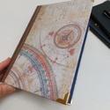 Asztronomia egyedi napló , Egyedi tervezésű kézi kötésű napló asztrolo...