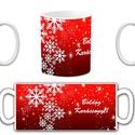 Karácsonyi bögre, Otthon & lakás, Konyhafelszerelés, Bögre, csésze, Mindenmás, Karácsonyi bögre.  A bögre grafikája saját tervezés. A bögre díszítését én készítem, transzfer eljá..., Meska