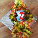 Róka bögre, Otthon & lakás, Konyhafelszerelés, Bögre, csésze, Gyurma, 2 dl-és Róka koma bögre az Ősz csodálatos színeivel kombinálva., Meska