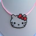 Hello Kitty-s nyaklánc, Aranyos Kitty-s nyaklánc gyöngyből gyerekeknek,...