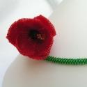 Tulipán nyakbavaló, Megrendelésre készítettem ezt a gyönyörű nya...