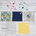 Textil szavéta / újraszalvéta, többféle minta, Textil, többször használható szalvéta, kívü...