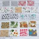 Textil szalvéta / újraszalvéta csomag, többféle minta, Textilszalvéta csomag (21 db), megrendelésére. ...
