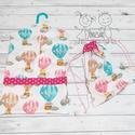 Hőlégballon mintás ovizsák és tornazsák szett, Hőlégballon mintás ovizsák (ovis zsák) és to...