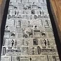 Feliratos patchwork takaró kamaszoknak., Otthon, lakberendezés, Lakástextil, Takaró, ágytakaró, Egyedi készítésű takaró fiúknak-méret:220x140cm. Anyaga: erős bútorvászon.   Ez a takaró ..., Meska