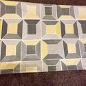 Ikeás patchwork mintás falvédő, takaró, Otthon, lakberendezés, Lakástextil, Falvédő, Takaró, ágytakaró, Varrás, Patchwork, foltvarrás, Patchwork falvédő,    A két réteg közé vatelint raktam, így szép tartása van. Az anyagokat varrás e..., Meska