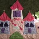 Palotás patchwork falvédő lila-rózsaszÍn, Otthon, lakberendezés, Lakástextil, Falvédő,  Mérete: 160x90cm.   Ha más színben, vagy méretben kérnéd, írd meg. , Meska