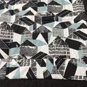 Ikeás design patchwork mintás takaró, Otthon, lakberendezés, Lakástextil, Falvédő, Takaró, ágytakaró, Varrás, Patchwork, foltvarrás, Egyedi készítésű takaró   A két réteg közé vatelint raktam, így szép tartása van. Az anyagokat varr..., Meska