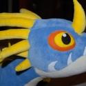 """Nagy Viharbogár plüss sárkány (Stormfly), Játék, Dekoráció, Baba-mama-gyerek, Plüssállat, rongyjáték, Az """"Így neveld a sárkányodat"""" című rajzfilmből Asztrid sárkánya (Stormfly) ölelgethetős formában. :)..., Meska"""