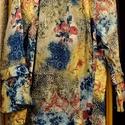 Mámor, Ruha, divat, cipő, Női ruha, Blúz, Bohém,színekben gazdag blúz, egyenes szabással,fodros ujjal  nyaknál összehúzható pertlivel. Mérete:..., Meska