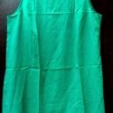 Bambusz trikó, Ruha, divat, cipő, Női ruha, Felsőrész, póló, Bambusz: egzotikus,örökzöld szín, amiből ez az egyszerű,ujjatlan tunika-trikó készült. Szok..., Meska