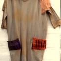 50% AKCIÓ! /Foltzsebes tunika, Ruha, divat, cipő, Női ruha, Ruha, Szeptember 23-24-25.-én AKCIÓS napok! 50% kedvezmény,minden 15 000 Ft feletti vásárlás esetén! Barna..., Meska
