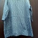 Mákosan, Mákos színű,kék-szürke,pamut pulóver. Három...