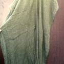 Spenót másképpen, Ruha, divat, cipő, Női ruha, Poncsó, Ruha, Spenót színű,gyűrt, pamutgéz anyagú, hosszú ing (poncsó). alja rojtozott. Nem méret függő..., Meska