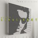 kép: U2: Bono - No.1, Dekoráció, Képzőművészet, Kép, Grafika, P55 - utwoBON1   U2 Bono No.1   P55 pictures: Akril felületű faforgácslapra, vinyl technikával k..., Meska