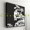 kép: Sin City: Hell and back - No.2, Dekoráció, Képzőművészet, Kép, Grafika, P55 - sincHaB2  SIN CITY: Hell and Back No.2   P55 pictures: Akril felületű faforgácslapra, vinyl..., Meska