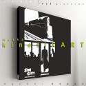 kép: Sin City: Dame to kill - No.3, Dekoráció, Képzőművészet, Kép, Grafika, P55 - sincDtK3  SIN CITY - The dame to kill - No.3   P55 pictures: Akril felületű faforgácslapra,..., Meska