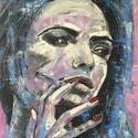Smoke - olaj festmény, Képzőművészet, Festmény, Olajfestmény, Festészet, 60x110 cm-es feszített vászonra készült olaj festmény, festőkéses technikával. Nem igényel külön ke..., Meska